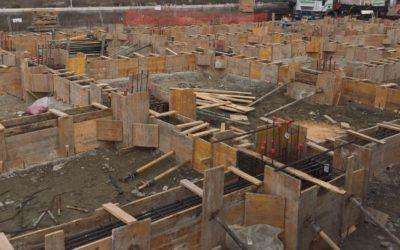 DeFerst está finalizando la cimentación de su obra en El Cañaveral