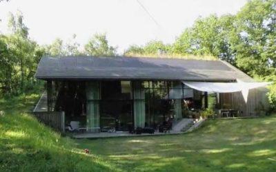 La casa subterránea ecológica.