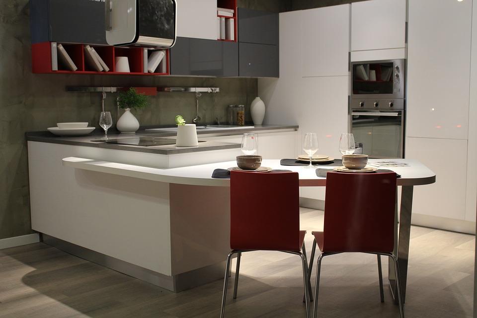 Si tengo una cocina pequeña, ¿qué colores elijo?